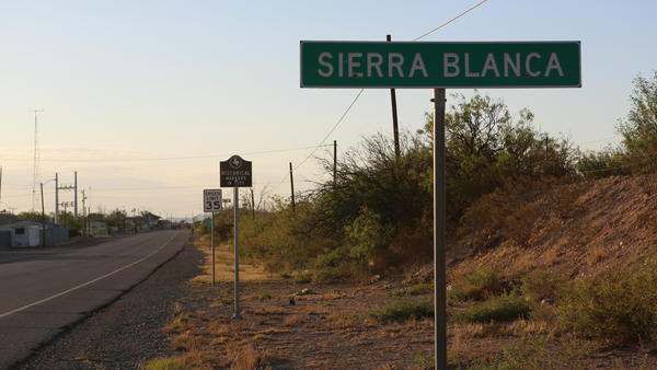 Trains that once deposited travelers for shopping and dining in dusty Sierra Blanca, Texas, no longer stop here. Interstates further eroded the local economy as more people chose to live and shop in El Paso, 85 miles away.
