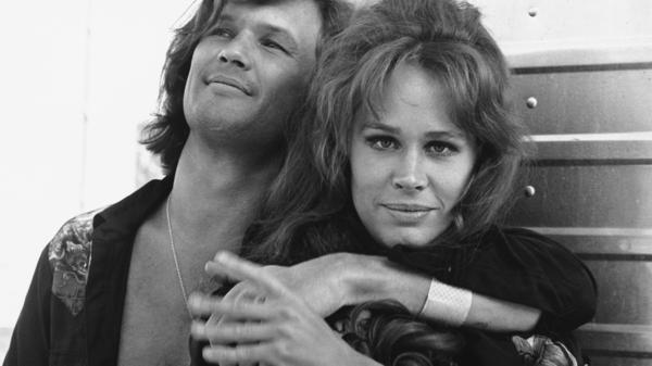 Karen Black and Kris Kristofferson were photographed together in 1972, when they co-starred in <em>Cisco Pike, </em>a saga of drug-ruined rockers and crooked cops.