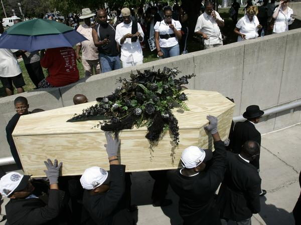 In 2007, the NAACP held a mock burial for the N-word to symbolize its campaign to stamp out the word's usage. But it's proved to be a hardy foe.