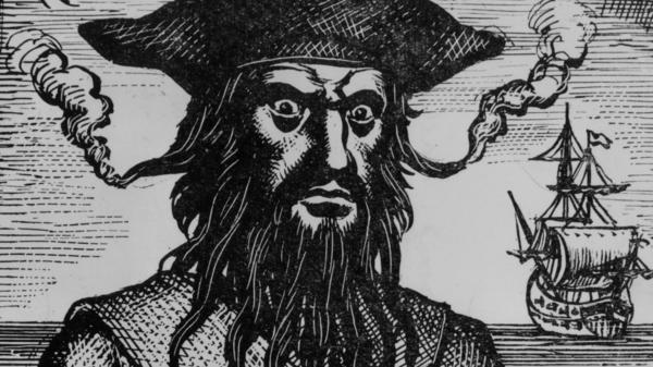 Captain Edward Teach, better known as Blackbeard, is said to have tucked slow-burning fuses into his beard and lit them on fire before plundering towns for gold and rum.