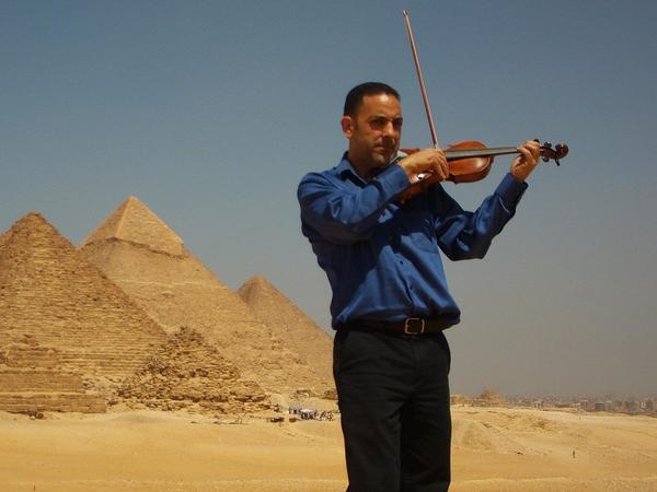 Riad Abdel-Gawad creates new Sufi music by translating sacred chants to the violin.