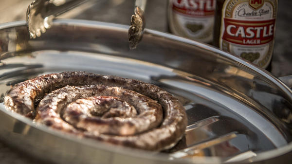 For Jan Scannell, the classic South African boerewors is an emblem of national unity. Spices (nutmeg, clove, coriander) brought by former slaves from the East, sausage-making skills imported by settlers from the West, cooked in the classic African style: Over an open flame.