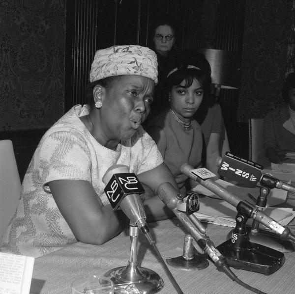 "Ella Baker helped Martin Luther King Jr. start the Southern Christian Leadership Conference and was a field secretary for the NAACP, where she worked for black voter registration. She was often referred to as the ""Godmother of SNCC"" — the Student Nonviolent Coordinating Committee — where she provided counsel to student activists."
