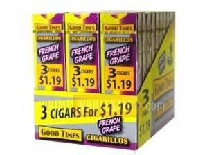 Unlike cigarettes, cigarillos can be bought individually or in small packages.