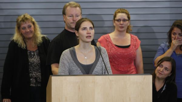 In 2011, Amanda Knox spoke to the media after arriving in the U.S., following a years-long criminal case against her in the death of a roommate in Italy. A new trial for Knox is planned to begin in Florence, Italy, next month.