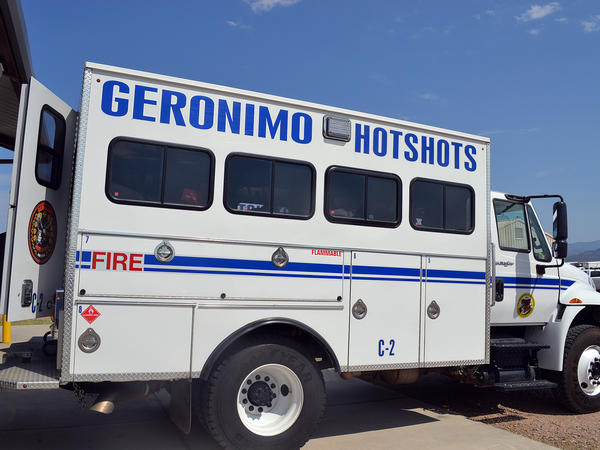 The Geronimo Hotshots are one of seven elite Native American firefighting crews in the country.
