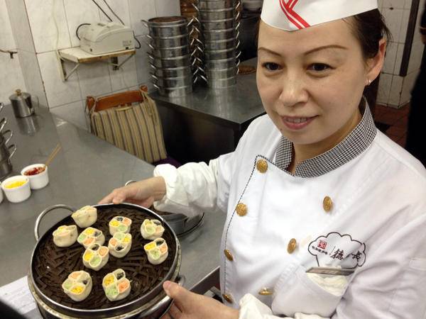 <strong>Dumpling Master</strong>: Chef Ma Shunli has been preparing dumplings at the Defachang restaurant since she was teenager.