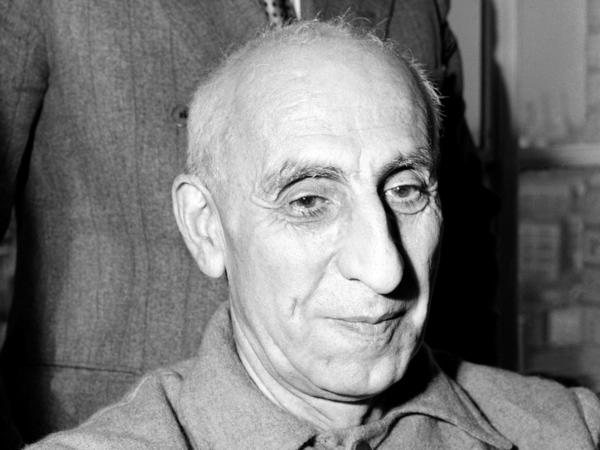 Former Iranian Premier Mohammed Mossadegh appears in October 1951. The CIA's overthrow of Mossadegh was a template for the agency's covert operations going forward.