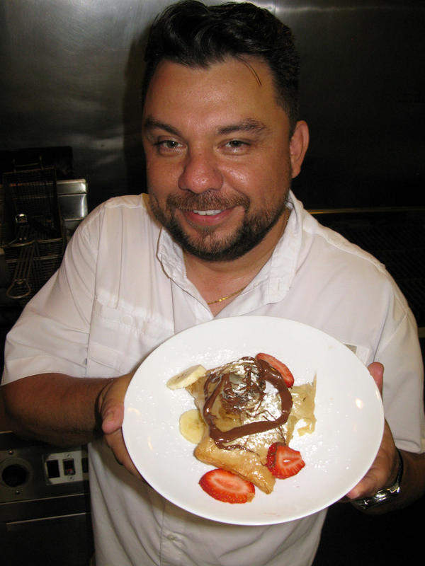 Abel Gonzalez sells his deep-fried Nutella creations for the three weeks of the State Fair and then spends the next 11 months thinking about what he should fry at the next fair.