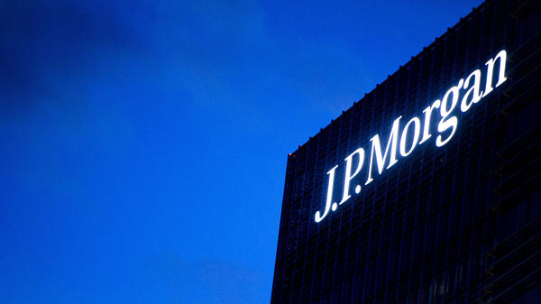 The JPMorgan Chase building in London, where traders ran up huge losses.