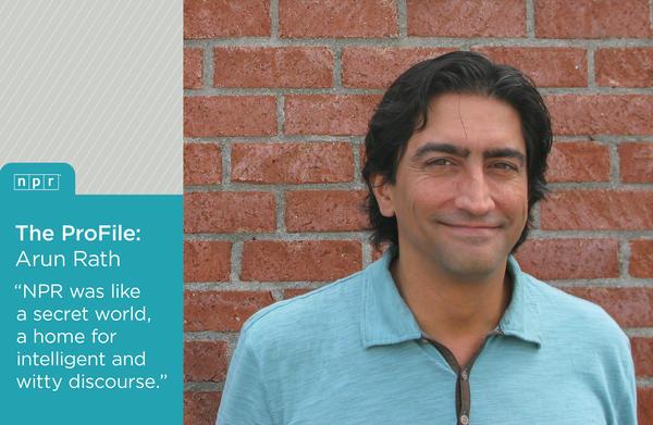 NPR's <em>All Things Considered </em>Weekend Host Arun Rath.