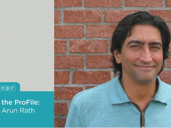 NPR's <em>All Things Considered</em> Weekend Host Arun Rath.
