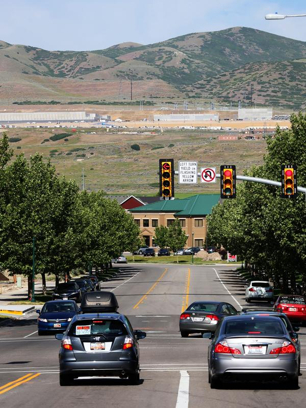 The NSA says the site's location near Salt Lake City will simplify staffing and the largely treeless surroundings will make the center relatively easy to secure and monitor.