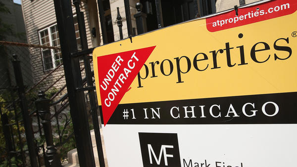 This home was under contract last month in Chicago.