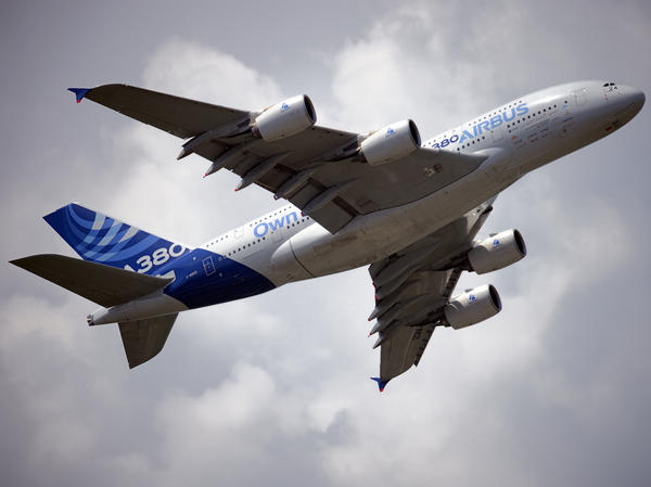 Airbus hopes the global growth in air traffic will fuel demand for its giant A380.