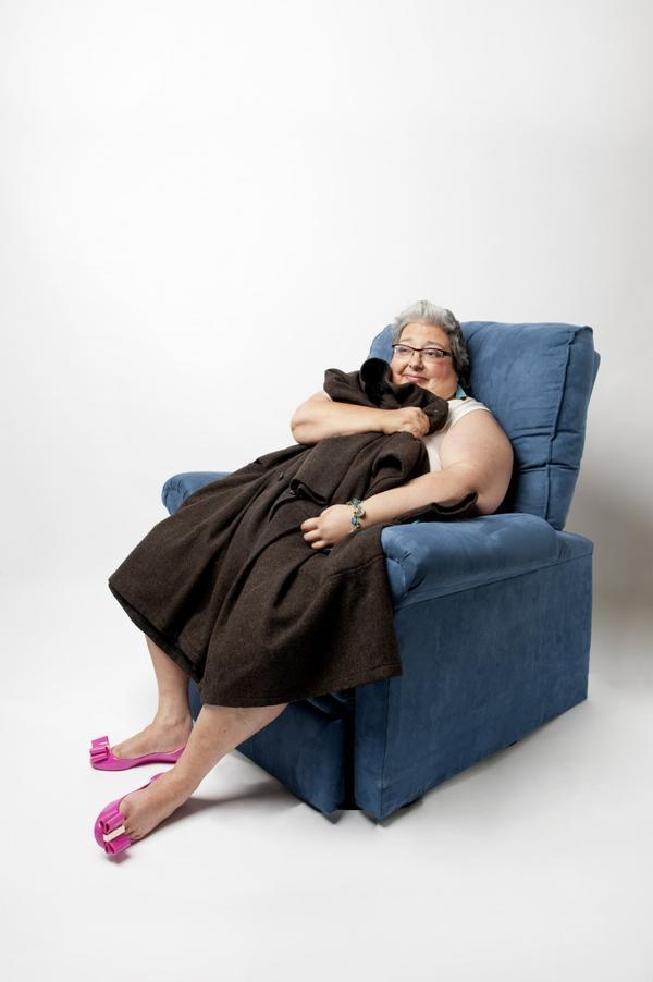 Pamela Bradford (A.K.A. Melissa McCarthy). (Photo by Webb Chappell, courtesy of The Boston Globe Magazine)