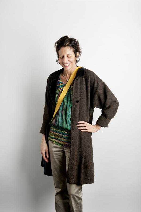 Vicci Recckio (A.K.A. Isabella Rossellini). (Photo by Webb Chappell, courtesy of The Boston Globe Magazine)