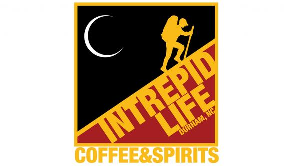 Logo for Intrepid Life Coffee and Spirits in Durham, NC. (http://intrepidlifecoffeeandspirits.com/)