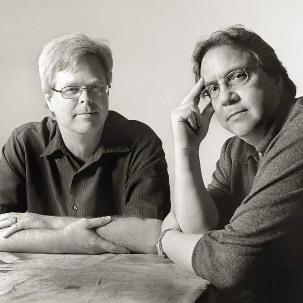 Steven L. Davis and Bill Minutaglio, co-authors of <em>Dallas 1963</em>. Minutaglio is a professor at the University of Texas at Austin. His work has appeared in <em>The New York Times</em>, <em>Esquire</em> and <em>Newsweek. </em>
