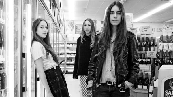 HAIM's debut album, <em>Days Are Gone</em>, is out now. Left to right: Alana Haim, Este Haim, Danielle Haim.