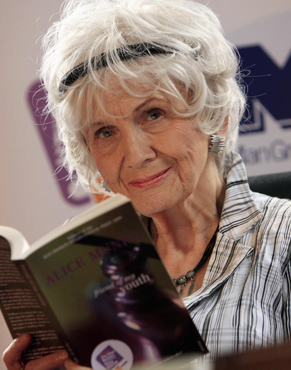 "Canadian author <a href=""http://www.npr.org/books/authors/137943757/alice-munro"">Alice Munro</a> has won the Nobel Prize in literature. The 82-year-old author recently announced that she plans to stop writing."