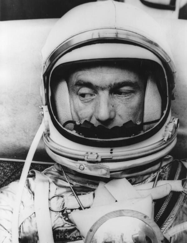 American astronaut Scott Carpenter, in May 1962.