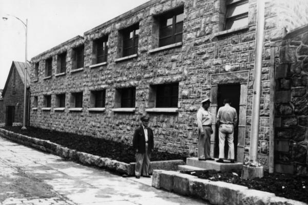 The exterior of Eastern State's death row. No executions actually took place at Eastern State; the prisoners were shipped elsewhere.
