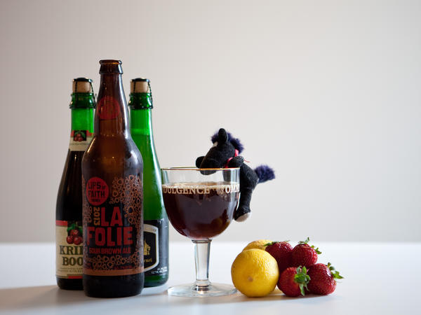 "<strong>Hold Your Horses:</strong> The main flavor of a sour beer is tartness, like a strawberry or lemon. But many sours also have a ""funky"" taste that some say smells like a horse blanket or a barnyard."