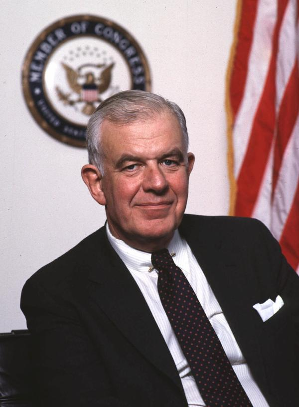 Democrat Tom Foley served Washington state's 5th Congressional District for 30 years and was House speaker from 1989 to 1995. He died Friday at age 84.