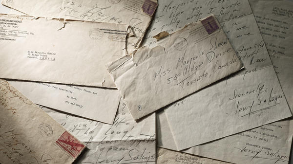 J.D. Salinger wrote nine letters and postcards to aspiring Canadian writer Marjorie Sheard.