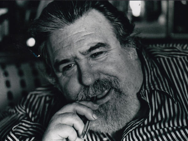 Doc Pomus, pictured here in the 1980s, was an obscure, yet prolific songwriter who died in 1991. <em>A.K.A. Doc Pomus</em> is a documentary about his life.