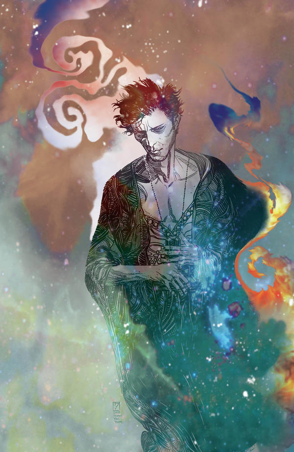 <em>The Sandman: Overture </em>explores the back story of the central character, Orpheus, to explain how he wound up in captivity at the start of <em>The Sandman.</em>
