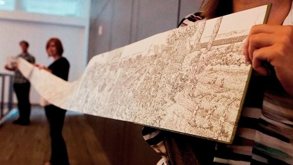Joe Sacco's new book, <em>The Great War, </em>unfolds into a 24-foot-long panorama.