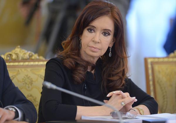 Argentine President Cristina Fernández de Kirchner.