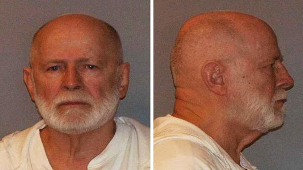 "James ""Whitey"" Bulger, in a 2011 U.S. Marshals Service photo, has been sentenced to two life terms in prison for his role in 11 killings."