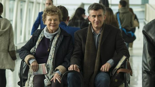 Steve Coogan acts alongside Judi Dench in <em>Philomena,</em> the story of a woman searching for her son and the cynical journalist helping her find him.