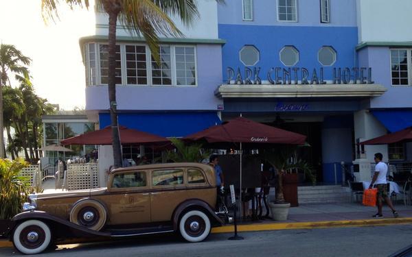 The Park Central in Miami Beach, Fla. (Julia Duba/WLRN)