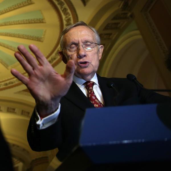 Senate Majority Leader Senator Harry Reid, D-Nev.