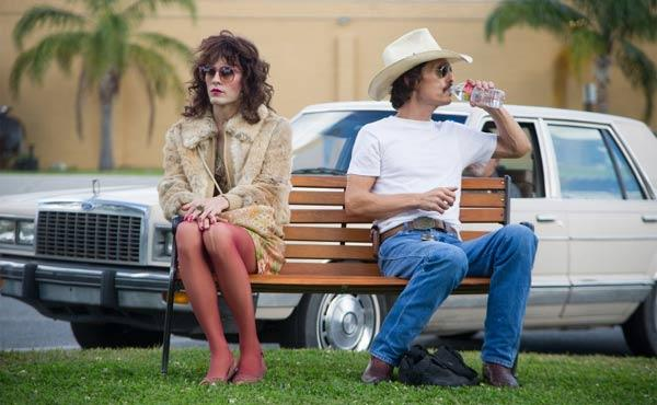 "Actors Jared Leto and Matthew McConaughey are pictured in a scene from ""Dallas Buyers Club."" (Focus Features)"