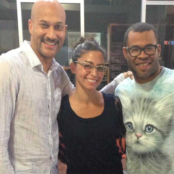 Keegan-Michael Key and Jordan Peele talk Ax vs. Ask with NPR's Shereen Marisol Meraji.