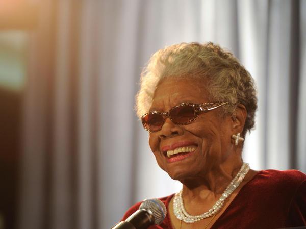 """Poet Maya Angelou has written a poem in honor of Nelson Mandela, """"on behalf of the American people."""""""