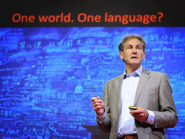 """""""It is really peculiar on the face of it that our languages exist to prevent us from communicating with each other."""" — Mark Pagel"""