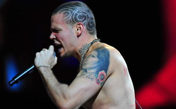 Rene Perez Joglar, aka Residente, fronts Puerto Rican Group Calle 13.