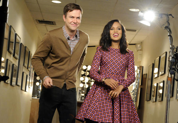 Kerry Washington (with Taran Killam) recently appeared on <em>SNL </em>to spoof the show's lack of a black female cast member.