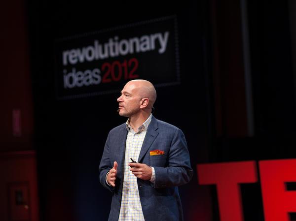 Andrew McAfee speaking at TEDxBoston.