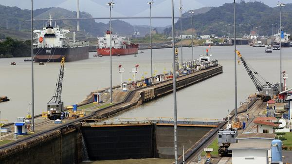 A view of the Panama Canal last Thursday. The canal is being widened to accommodate larger ships, but the builders and the canal operators are locked in a dispute about who will pay the higher-than-expected costs to finish the project.