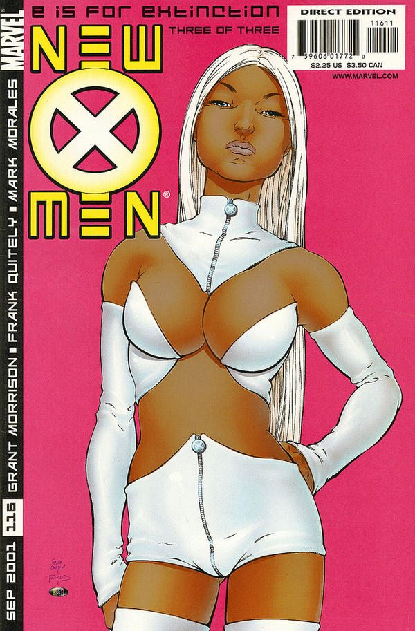 Orion Martin's reimagining ofEmma Frost, one of the X-Men, as a woman of color.