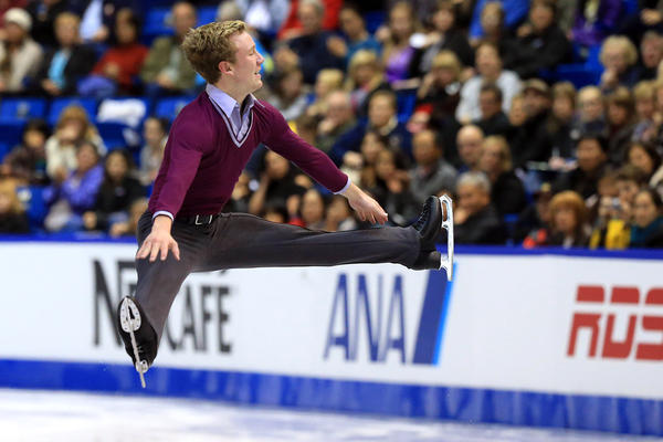 Ross Miner skates during the men's short program at the 2013 Skate Canada International last year. He hopes to qualify for the upcoming Winter Olympics.