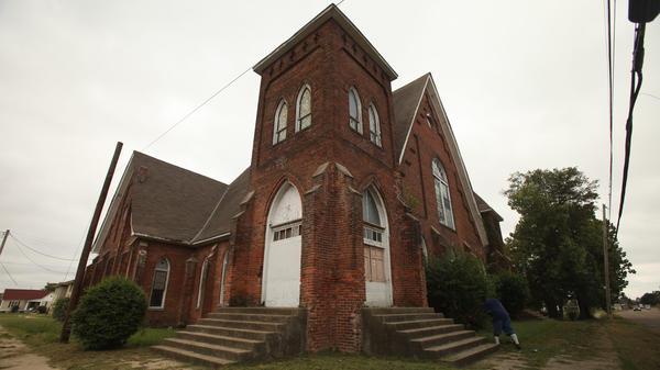 Centennial Baptist Church in Helena, Ark.