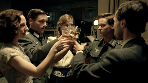 The sprawling drama <em>Generation War</em> follows a range of characters — a Nazi officer and his brother, a nurse, an aspiring singer and her Jewish boyfriend — through Germany during World War II.
